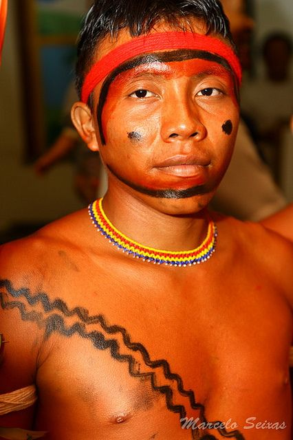The Yanomami are a group of approximately 35,000 indigenous people who live in some 200–250 villages in the Amazon rainforest on the border between Venezuela and Brazil.