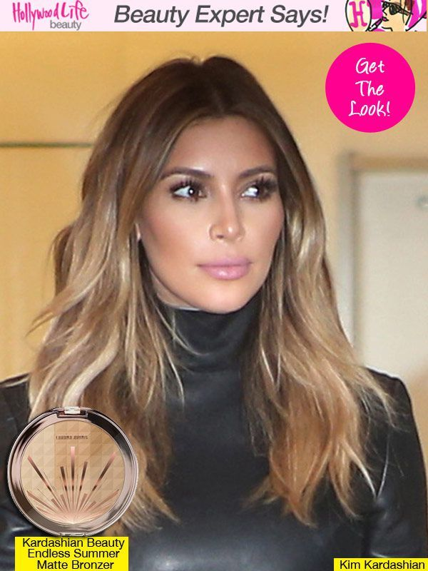 "Kim Kardashian Contouring also the makeup products she uses ""in Paris"""