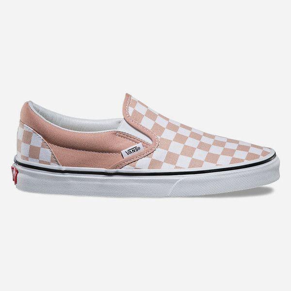 white slip on vans size 9