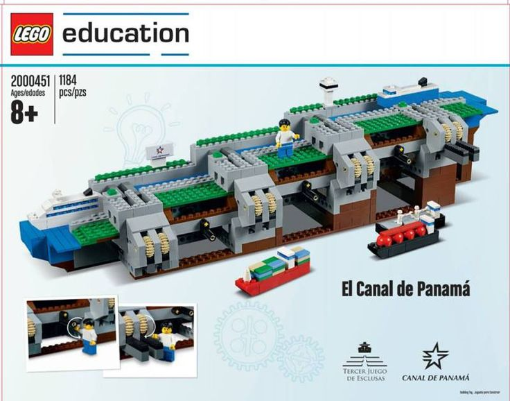 Lego now has a set of the Panama Canal!   Will be only available in Panama!