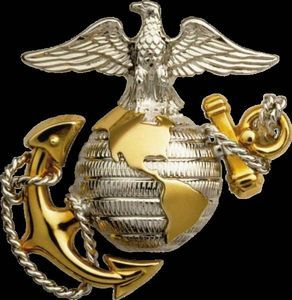 Us Marine Corps history | The United States Marine Corps emblem is an eagle, a globe and an ...