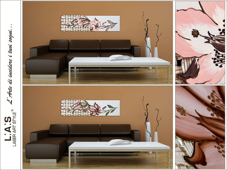 #ChoiceLAS Furnish your home with autumn colours! Which floral wall sculpture of #laserartstyle would you choose? http://www.laserartstyle.it/home/gallery/floreali/