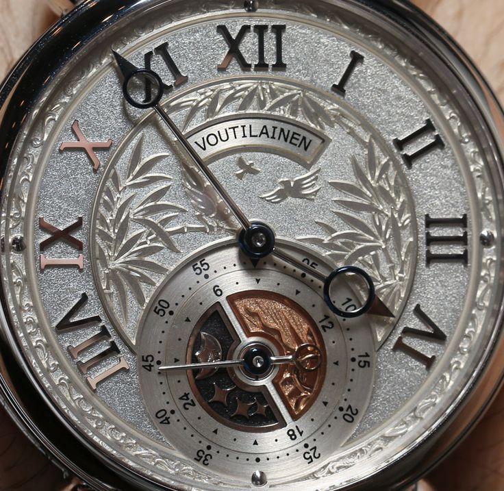 voutilainen watches | Voutilainen GMT Six O'Clock Watch Hands-On