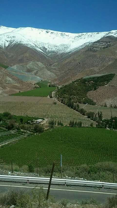 Comuna de Paihuano,valle de elqui,Chile.