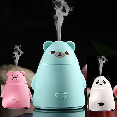 80ml Mini Ultrasonic Cool Mist Aroma Humidifier Aromatherapy Diffuser Atomizer  | eBay