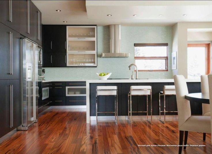 Деревянный пол на кухне - это высокий уровень благосостояния!  На кухне деревянный пол свидетельствует о хорошем вкусе и благосостоянии своего владельца. Натуральное дерево  это благородно и надёжно красиво и респектабельно. Паркет на кухне может быть лаконичным и служить лишь фоном для кухонной мебели декора и отделки стен или потолка. А может и сам стать элементом декора и гордостью хозяев квартиры! Villa di Parchetti - наш партнёр! Наши Клиенты точно получал скидки в салоне Villa di…