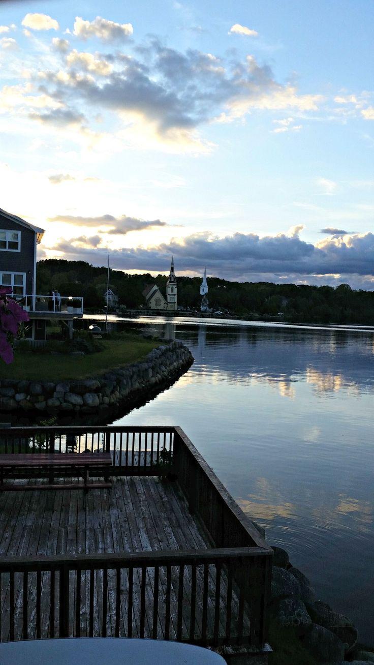 Mahone Bay, Nova Scotia 2015. Three Churches.