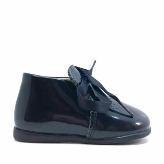 Zapatos primeros pasos azul marino modelo Zippy