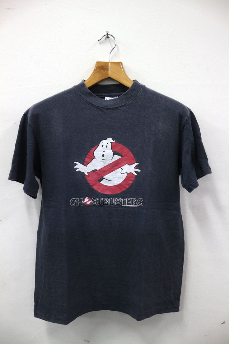 Black keys t shirt etsy - 25 Sales Vintage 1984 Ghostbusters Cartoon Movies Ghost Catcher Paranormal Tee T Shirt