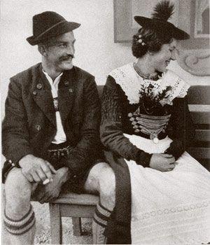 Oberbayerisches Paar aus Kochel.