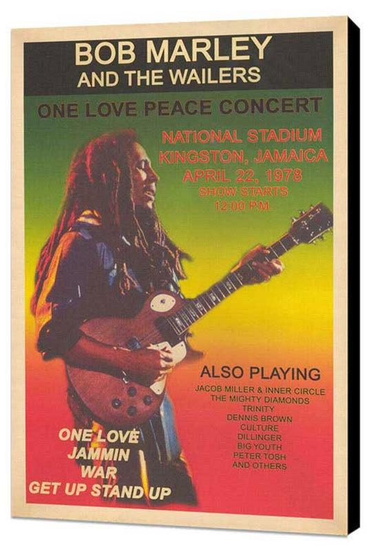 Vintage Bob Marley concert poster | favorite music ...