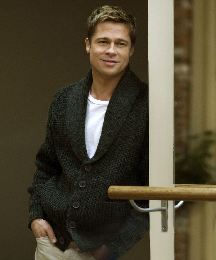 """Brad Pitt en """"El curioso caso de Benjamin Button"""", 2008"""