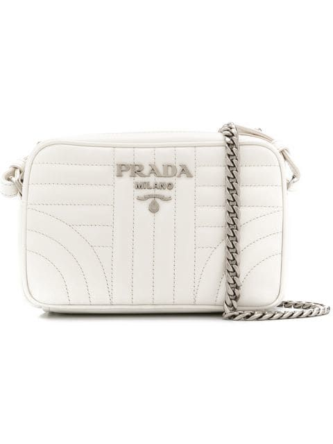 58c496e8bed27e Prada Diagramme Cross-body Bag - Farfetch | HANDBAGS in 2019 | Prada ...