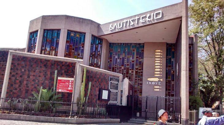 Bautisterio de la Villa de Guadalupe.