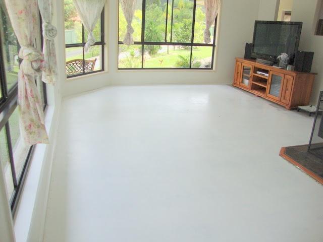 Beautiful Repainting Basement Floor