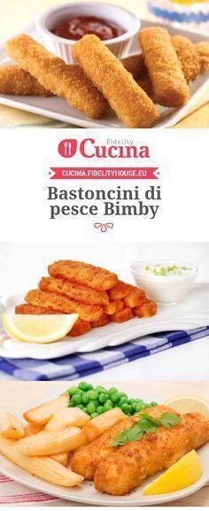 Ricetta Bastoncini di pesce Bimby