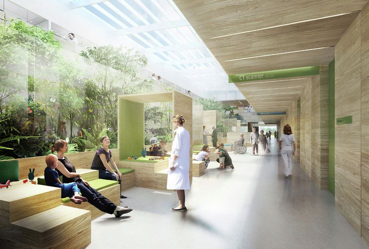 Image 3 of 6 from gallery of aarhus arkitekterne Designs Revolutionary Proton Therapy Center for Denmark. Courtesy of aarhus arkitekterne