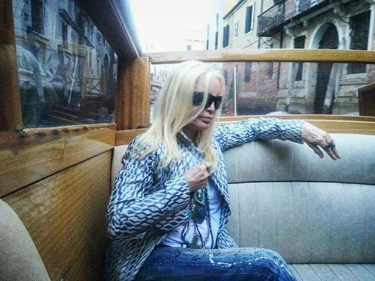 PATTY PRAVO waiting for Kineo Award in VENICE