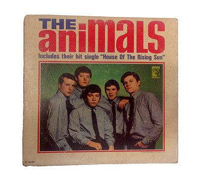 """1964 """"The Animals"""" 1st U.S. Release Album - Band Signed"""