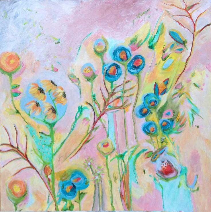 Odette Venuti 'Doodle Dee, Doodle Dum, Spring Has Sprung'. SOLD