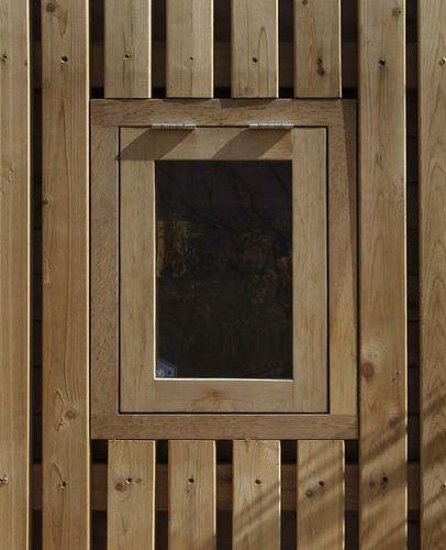 009_cedar window - detail | by cast_architecture