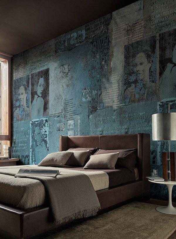 38 besten Interior Bedrooms Bilder auf Pinterest - tapeten fürs schlafzimmer