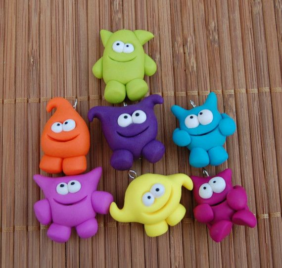 Wacky Monsters - Polymer Clay Inspiration
