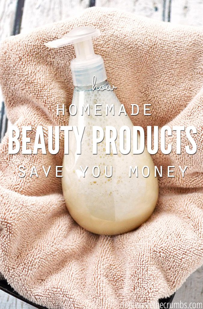 How homemade beauty products save you money homemade for Homemade products to save money
