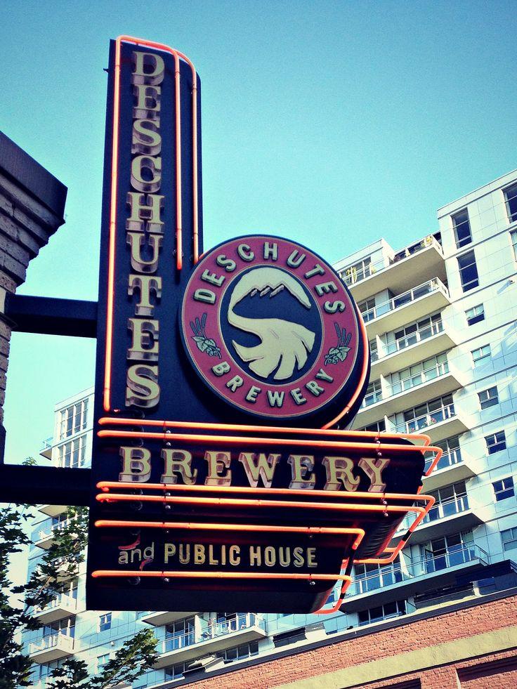 Portland Oregon Brewery Deschutes Public House