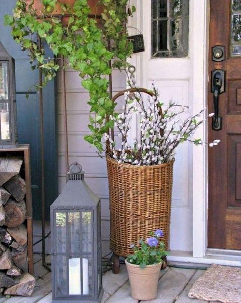 36 Amazing Spring Porch Farmhouse Style Homeridian Com