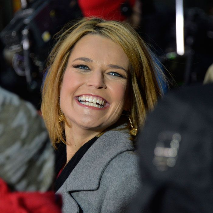 Surprise! This morning, Today show anchor Savannah Guthrie revealed a different sort of news: She's married and pregnant!