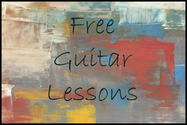 Free Guitar Lessons Online, from beginner through advanced.