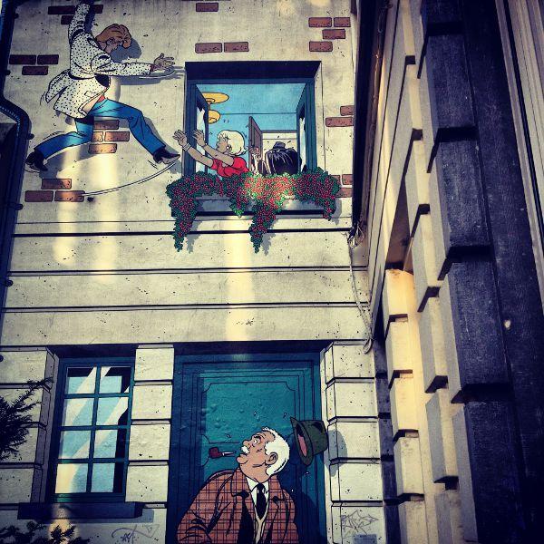 Cómics, escenarios de cuento de hadas y chocolate para un viaje a Flandes con niños