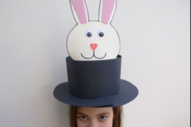 Make this fun and quirky Easter bonnet in minutes. You just need card and a few bits from around the house and before you know it you will have created a brilliant Easter bonnet.