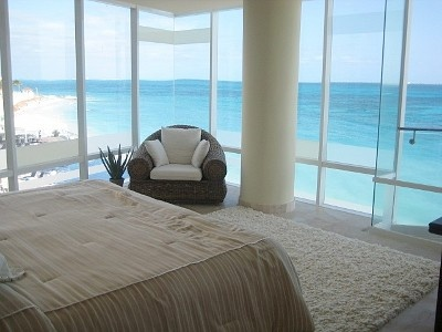 Dream bedroom    bedroom with panoramic view #homeaway #beach