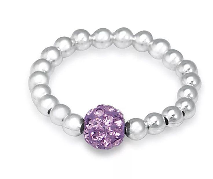 Violet Shambala Bling Ring