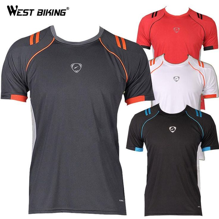 WEST BIKING Quality Male Running Cycling Short Sleeve Jerseys O-neck Men Bike Bicycle Tshirts Slim Fit Quick Dry T-shirts  #me #photooftheday #kids #wallets #bride #belts #sunshades #baby #men #smartwatch #graduation #money #fashionweek #love #style