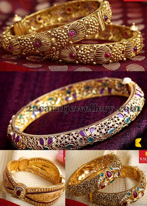 Jewellery Designs: Bangles by Kalyan Jewellers