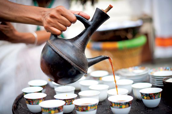 Ethiopian Coffee Ceremony. As the top African producer of coffee, and seventh in the world, Ethiopia has a long-standing relationship with the consumption and use of coffee. Ethiopia is home to coffee...