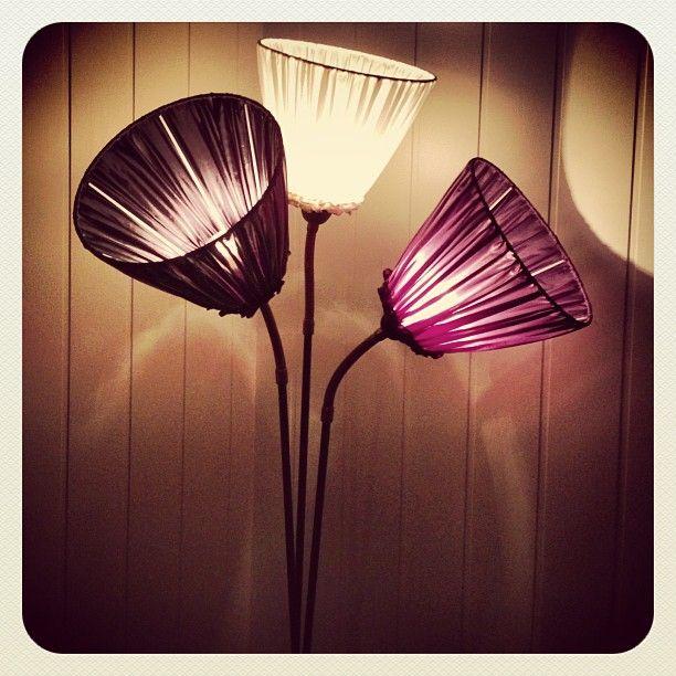 Pimpet arvet lampe