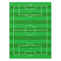 Football/Soccer Tailgate Party Tablecloth