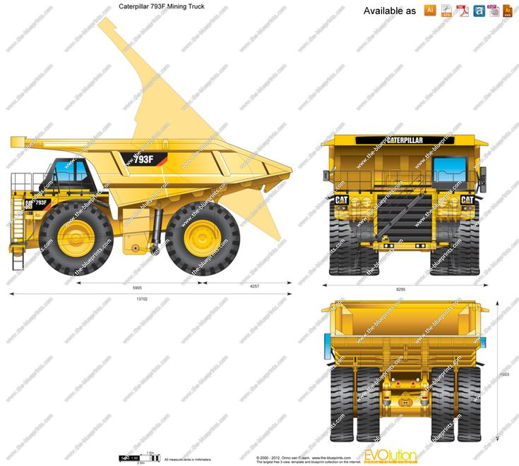 Mining Truck Blueprint Google Search Dump Truck