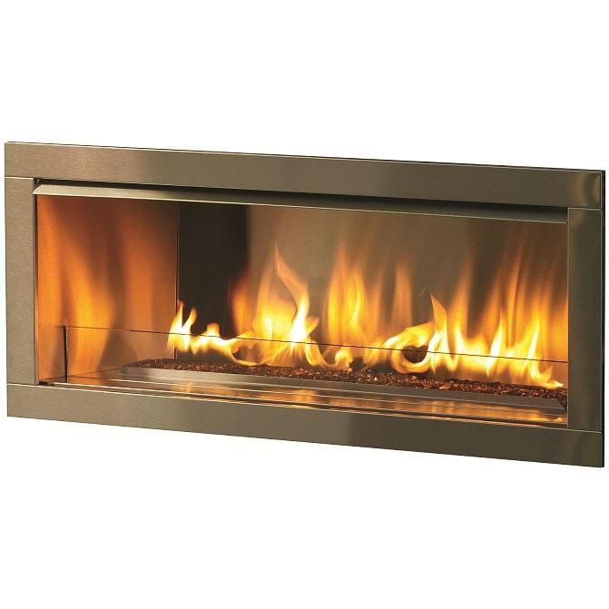 Vent Free Natural Gas Linear Firplaces