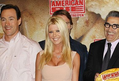 One more serving? Tara Reid reveals there are talks for a fifth American Pie film that could be set in Las Vegas: http://lilotime.com/one-more-serving-tara-reid-reveals-there-are-talks-for-a-fifth-american-pie-film-that-could-be-set-in-las-vegas/