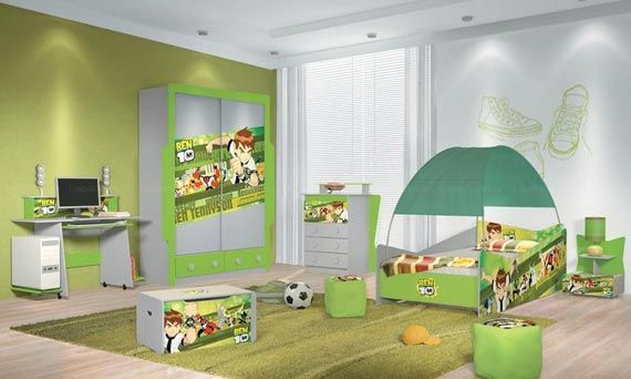 Maybe 1 10th Of The Ben 10 Stuff Would Be Better But Cute Nonetheless Boys Bedroom Ideas Toddler Bed Children