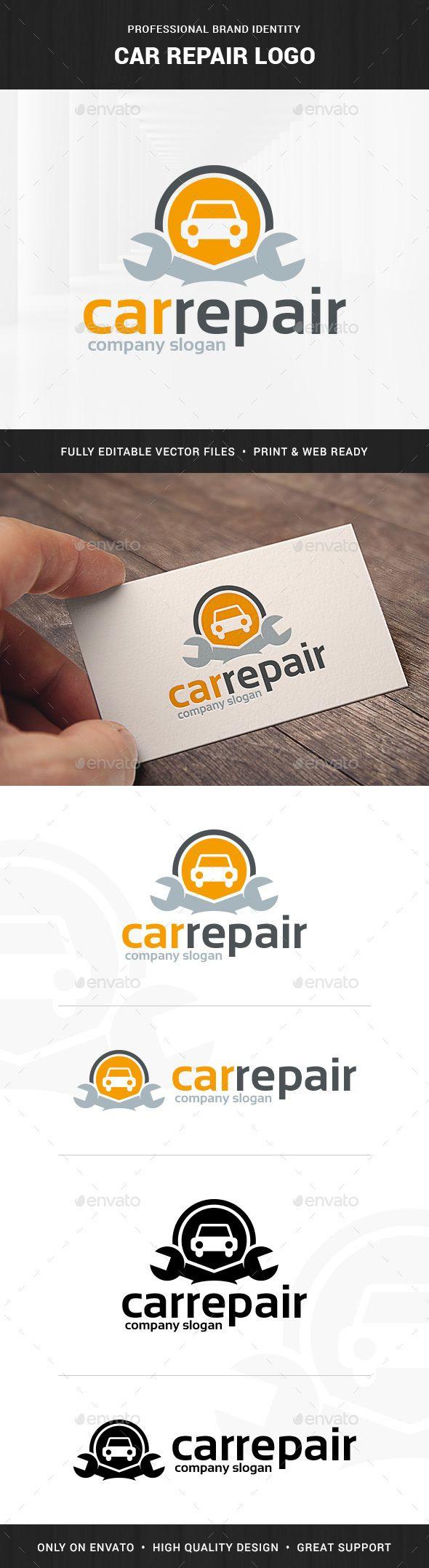 Car Repair  - Logo Design Template Vector #logotype Download it here: http://graphicriver.net/item/car-repair-logo-template/10034279?s_rank=909?ref=nesto
