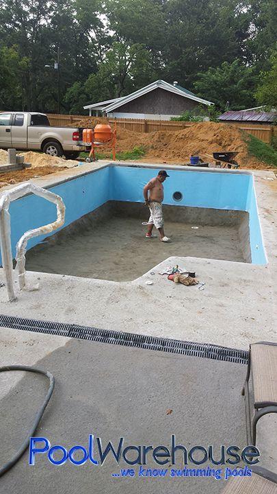 Laney Family South Carolina Pool Kit Construction   Pool ...