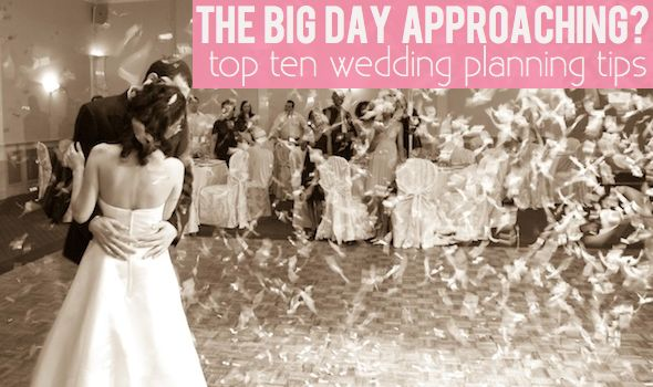 10 Wedding planning tips  #weddingtips #weddingbudget brieonabudget.com/