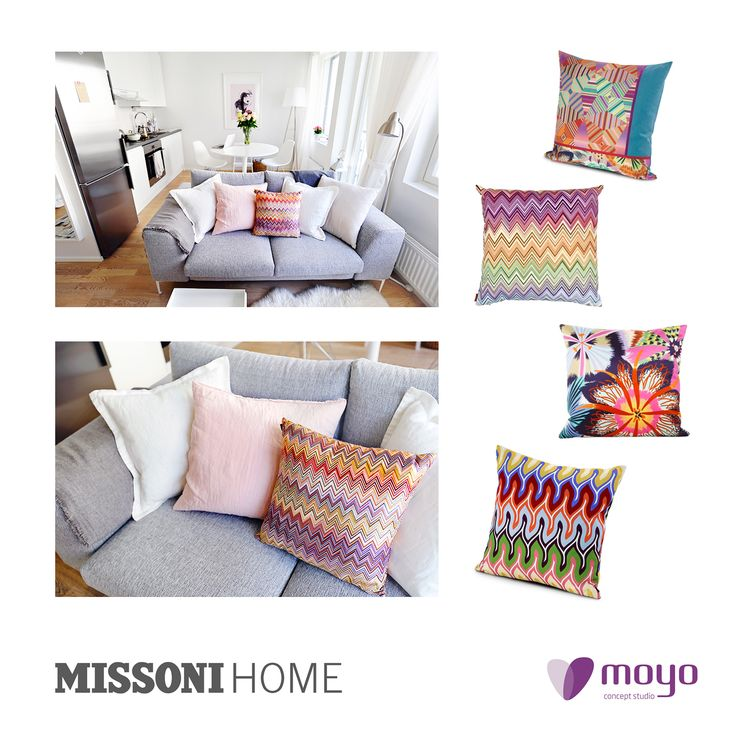 We love love love. Give life at your home with Missoni Home!