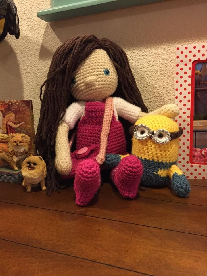 Amigurumi To Go Doll : 17 Best images about My Crochet Dolls; Amigurumi Dolls on ...